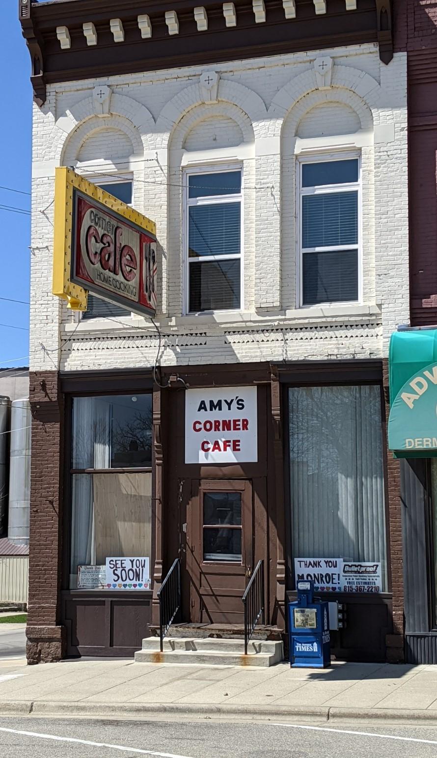 Amys Corner Cafe Storefront