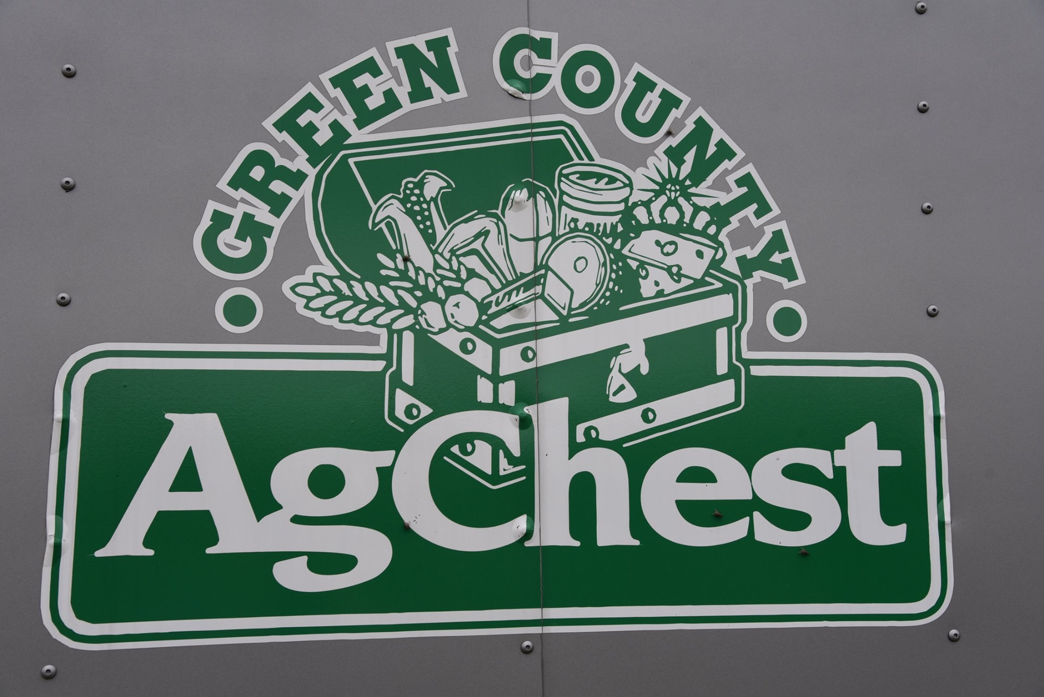 Green County Ag Chest Logo