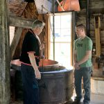 Discoer Wisconsin Host Learns About Historic Cheese Making