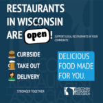 Wisconsin Restaurants are Open Flyer