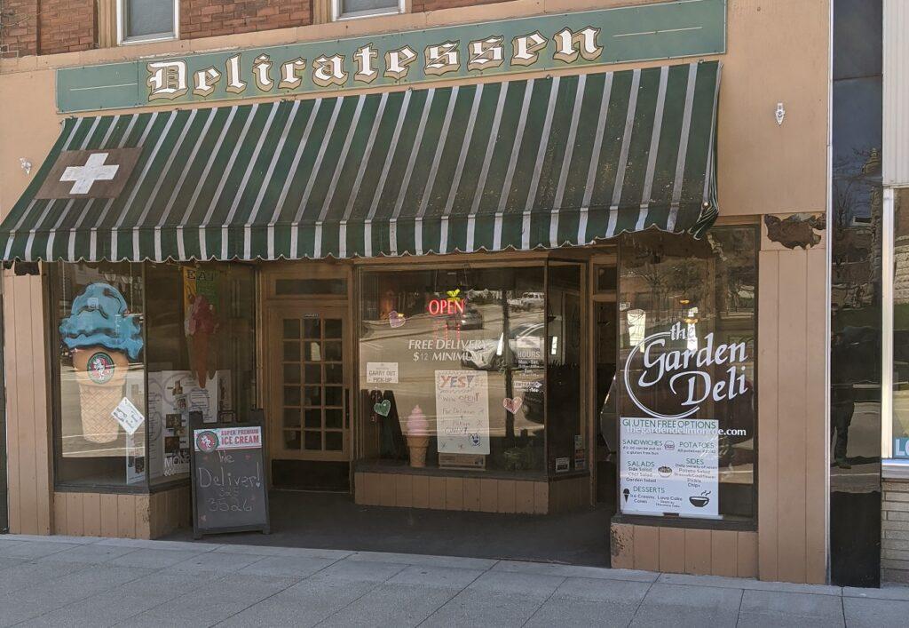 The Garden Deli Storefront